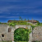 Derelict Italian Farmhouse Walls by jojobob