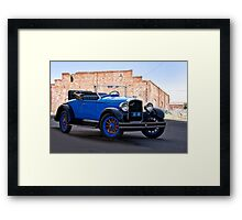 1926 Hupmobile '6' Roadster I Framed Print