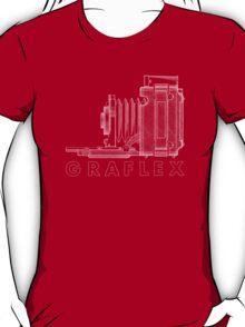 Vintage Photography - Graflex Blueprint (Version 2) T-Shirt