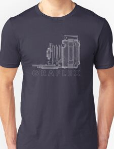 Vintage Photography - Graflex Blueprint (Version 2) T-Shirt