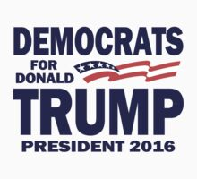 Democrats for Trump One Piece - Long Sleeve