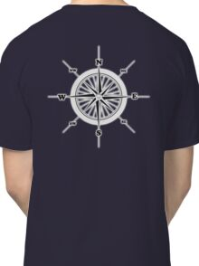 COMPASS, Travel, Navigation, Direction, Orientation, North, South, East, West  Classic T-Shirt