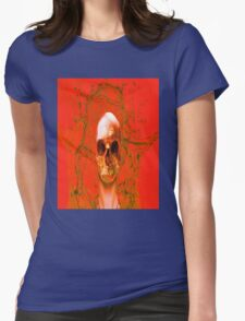 Contemplation Womens Fitted T-Shirt
