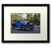 "1926 Hupmobile '6"" Rumbleseat Roadster Framed Print"