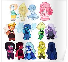 Steven Universe Gems Poster
