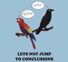 Let's Not Jump to Conclusions by Irina Chuckowree