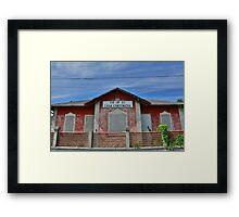 Casa Cantoniera at Soravilla Framed Print
