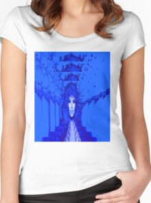 Blue Trance Women's Fitted Scoop T-Shirt