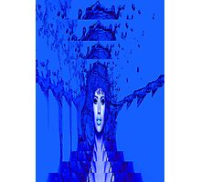 Blue Trance Photographic Print