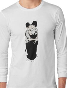 Kissing Coppers Long Sleeve T-Shirt