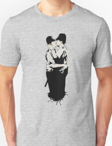 Kissing Coppers Unisex T-Shirt