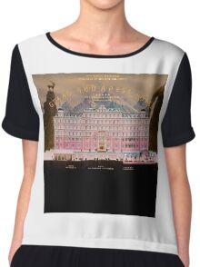 The Grand Budapest Hotel Chiffon Top