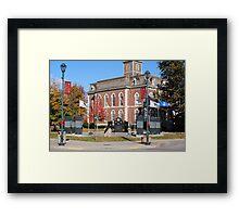 Old Court House Framed Print