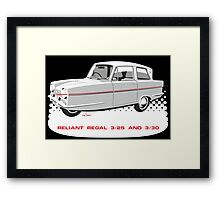 Reliant Regal 3/30 and 3/25 saloon Framed Print