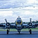 B-17G WW2 Bomber by doorfrontphotos