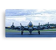 B-17G WW2 Bomber Canvas Print