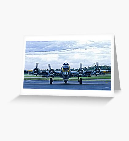 B-17G WW2 Bomber Greeting Card