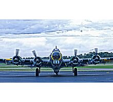 B-17G WW2 Bomber Photographic Print