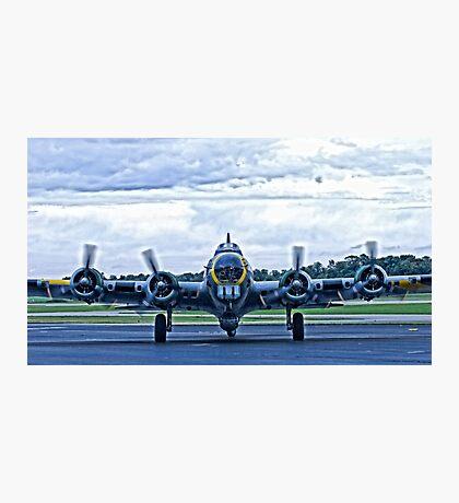 B-17G WW2 Bomber Photographic Print