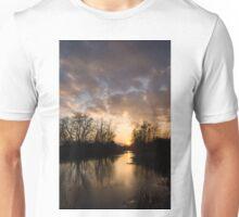 Winter Sunset - Lake Ontario, Toronto, Canada Unisex T-Shirt