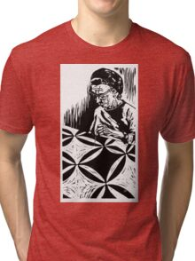 The Quilter, Nellie Clouse Tri-blend T-Shirt