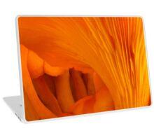 Orange Fungi Tunnel Of Love Laptop Skin
