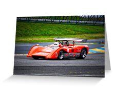 1969 McLaren M8C Can Am Racecar II Greeting Card