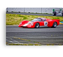 1970 Chevron B16 Can Am Racecar Canvas Print