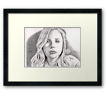 Chloe Moretz 2.0 Framed Print