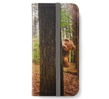 Hiding in the Woods iPhone Wallet/Case/Skin