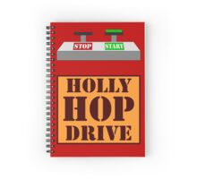 Holly Hop Drive Spiral Notebook