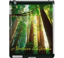 Northern California,Humboldt County And Redwood Trees iPad Case/Skin