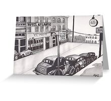 615 Hotel Atlantic by Kevin Dellinger Greeting Card