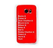 England 1966 World Cup Final Winners Samsung Galaxy Case/Skin