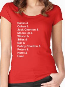 England 1966 World Cup Final Winners Women's Fitted Scoop T-Shirt