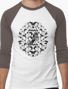 Arts & Crafts Bowdown Hound Men's Baseball ¾ T-Shirt