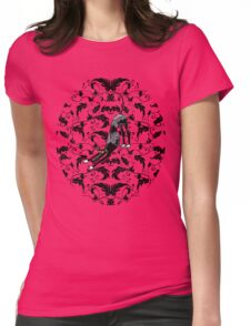 Arts & Crafts Bowdown Hound Womens Fitted T-Shirt