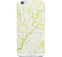 USGS TOPO Map Alabama AL Holly Pond 304185 1958 24000 iPhone Case/Skin