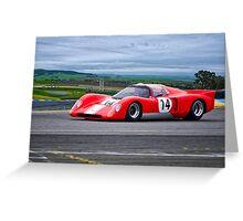 1970 Chevron B16 Can Am Racecar II Greeting Card