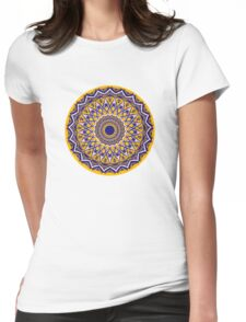 Daisy Chain Days Womens Fitted T-Shirt