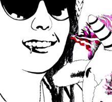 Evy & The Unicorn  Sticker