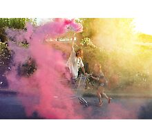 YOUNG WILD AND FREE Photographic Print