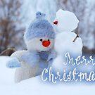 Merry Xmas - Snowman 08 by garigots