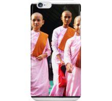 Nun Trio, Myanmar iPhone Case/Skin
