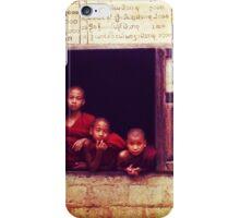 Trio, Myanmar iPhone Case/Skin