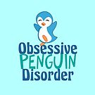 Cute Obsessive Penguin Disorder by elishamarie28