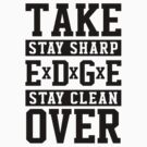TAKE OVER - straight edge by KatZivkovic