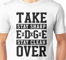 TAKE OVER - straight edge Unisex T-Shirt
