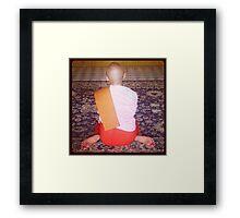 Burmese Nun Framed Print