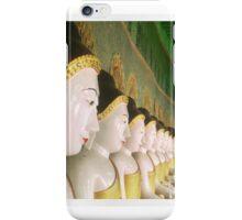 Row, Myanmar iPhone Case/Skin